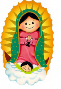 guadalupe cartoon
