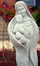 Our Lady Mary statue
