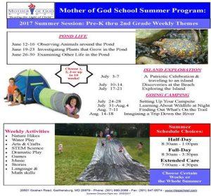 Summer Session Flyer