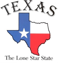 Texas Lone Star State Logo