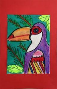 Art Class Toucan Project
