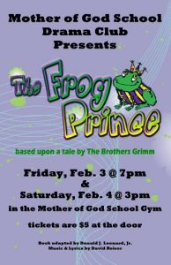 The Frog Prince Leaflet