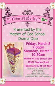 The Princess and the Magic Pea Leaflet
