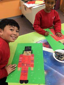 First Grade Art Class Nutcrackers