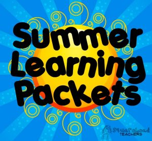 Summer Learning Packets Logo