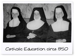 Catholic Nuns circa 1950